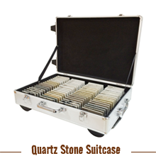 Stone Sample Suitacase