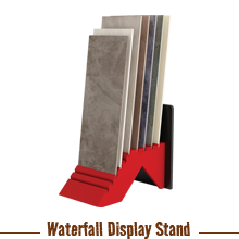 Waterfall Tile Stands