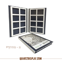 Quartz Stone Sample Folder