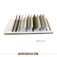 Acrylic Quartz Stone Sample Rack