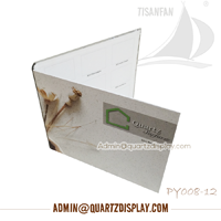Quartz Stone Folder, Granite and Marble Binder