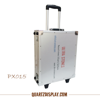 Quartz Stone Sample Traveling Suitcase