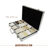 Aluminum Stone Sample Case