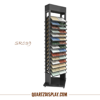Quartz Stone Display Tower