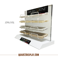 Modern Tabletop Display for Stone