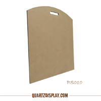 Hand Hold Plain MDF Board for