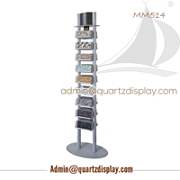 Ceramic , Mosaic Sample Tile Display Tower