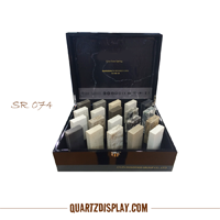 Quartz Stone Display Box