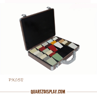 Quartz Sample Suitcase