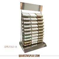 Stainless Steel Quartz Stone Rack