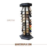 Quartz Stone Display Tower