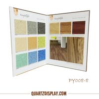 PY008-8 PVC Flooring Sample Binders