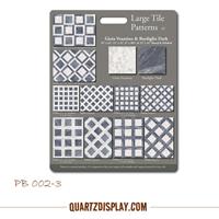 PS002-3 Ceramic Tile Sample Board