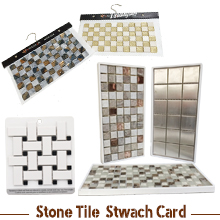 Stone Tile Swatch Card