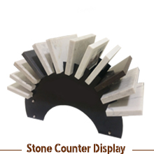 Stone Tabletop Display Stand